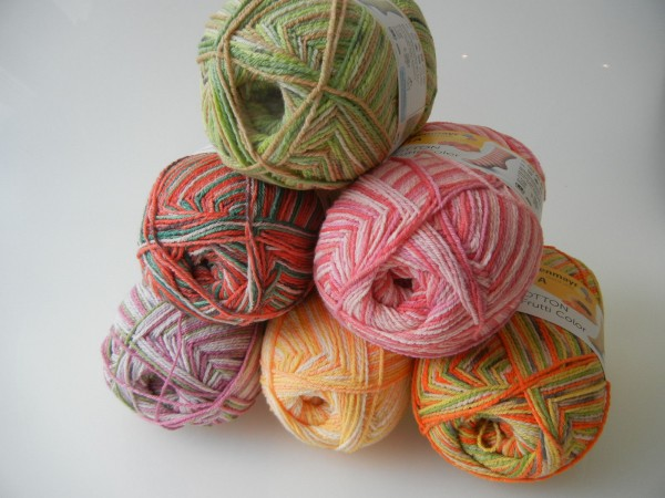 (9,50 EUR/100g) Regia Tutti Frutti Color Cotton
