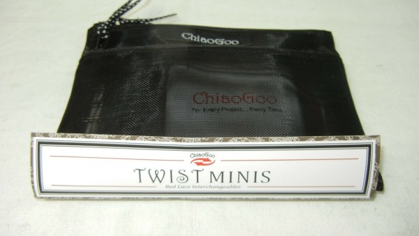 ChiaoGoo Twist Red Lace Mini lange Nadelspitzen Set 7500-M