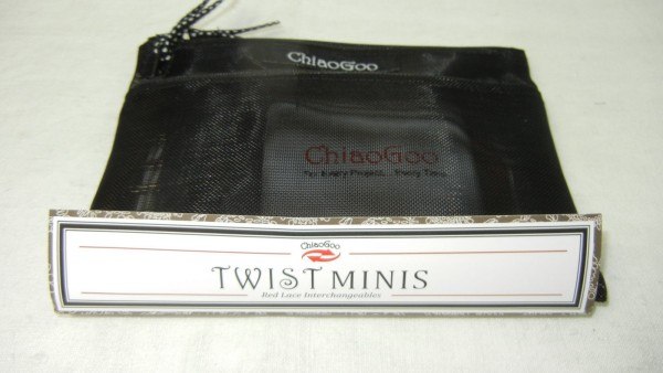 ChiaoGoo Twist Red Lace Mini lange Nadelspitzen Set 7500 M